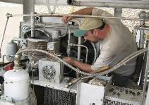 We specialize in field services of HP compressors